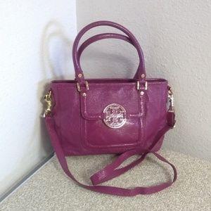 Tory Burch Amanda Pink Crossbody Bag
